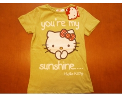 Tricou Hello Kitty, fete 6-7 ani